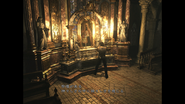 Resident Evil 0 Laboratory - Chapel altar Japanese examine