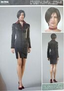 Ada Wong - Biohazard Damnation - CGI Model (Scan)