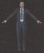 Degeneration Zombie body model 30