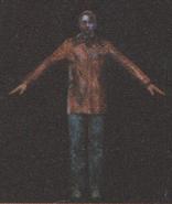 Degeneration Zombie body model 63