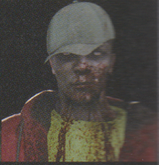 Degeneration Zombie face model 34