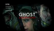Ghost Survivors Menu