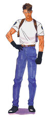 Resident Evil 2 - Leon Scott Kennedy plainclothes early design