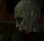 Resident Evil - Turning Around Zombie render