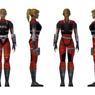 Elza's R.P.D. armor model.