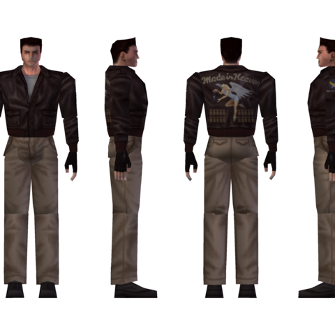 Chris' alternate costume model.