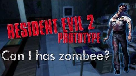 Resident Evil 2 Prototype (1.5) Non-proto zombies