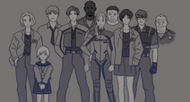 Wiki slider characters