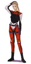 BIOHAZARD 1.5 concept artwork - Elza Walker early RPD outfit reconstruction