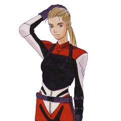 Elza's R.P.D. armor, early design.