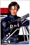 Resident Evil 2 retail PC and Dreamcast - Data Gallery - Leon Scott Kennedy 7-60