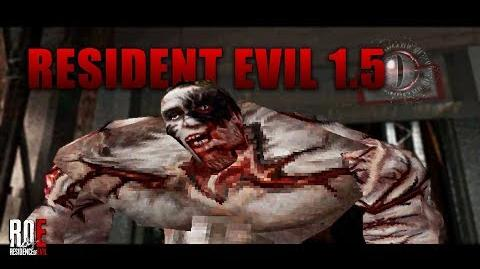 RESIDENT EVIL 1.5 RE2 Prototype GAMEPLAY + Download Link