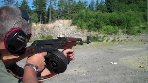 AK-47 Montage (Full Auto) Dbl. drum dump
