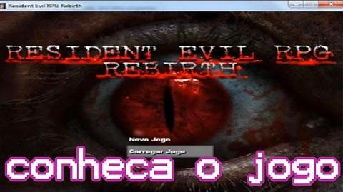 Resident Evil RPG Rebirth Conheça este Fan Game