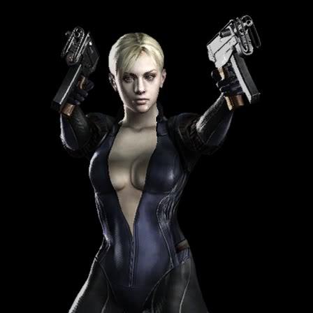 Resident Evil Jill Sexy