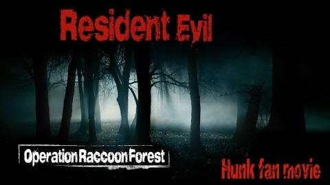 Resident Evil Hunk Fan movie