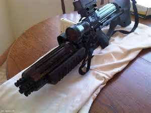 M1-L1 Tripple Pulse Assault Rifle