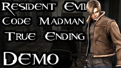 Resident Evil 3.5 Code Madman Demo True Ending