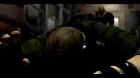 Resident Evil 3 Nemesis - Mikhail vs. Nemesis