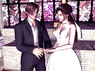 Leon & Claire Wed