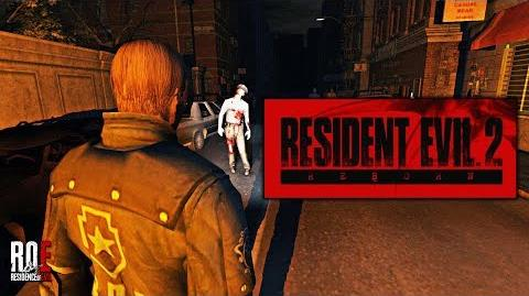 RESIDENT EVIL 2 REBORN Tech Demo GAMEPLAY