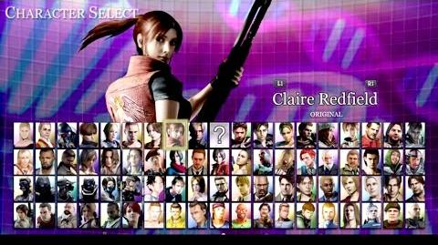 Resident Evil NEW GAME 'Mercenaries Ultimate Collection' Startup and character select
