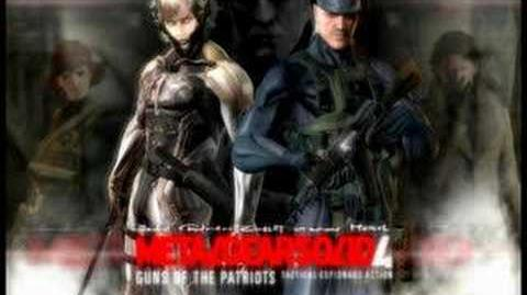 Metal Gear Solid 4 OST A Rebellion Rests