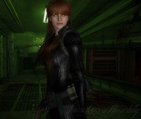 Eve in her Battle Armor