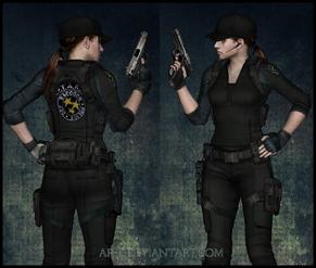 Jane (STARS Uniform)