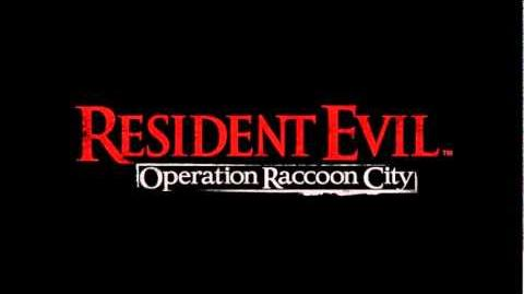 Resident Evil Operation Raccoon City Trailer Music