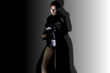 Jane in her Coat