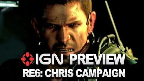 Resident Evil 6 Chris Campaign - Video Preview