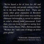 RE6 quote
