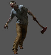 Zombie3 re6 render