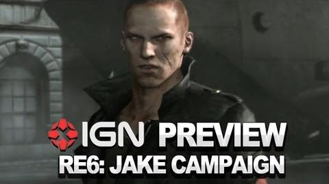 Resident Evil 6 Jake Campaign - Video Preview