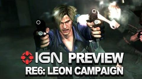 Resident Evil 6 Leon Campaign - Video Preview