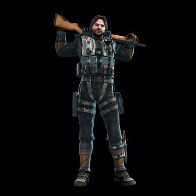 Jacob Redfield Resident Evil 5