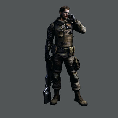Jacob Redfield from Resident Evil 3 Nemesis