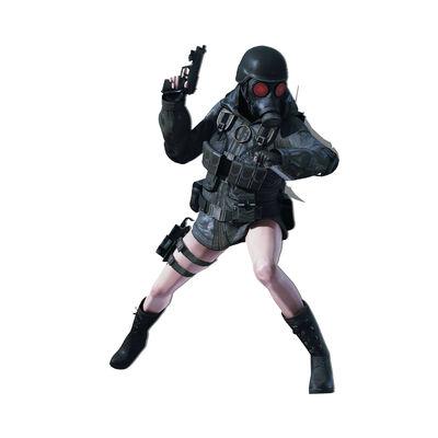 Kagome Higurashi from Resident Evil 2 Remake