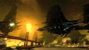 Bestien-Invasionsflotte