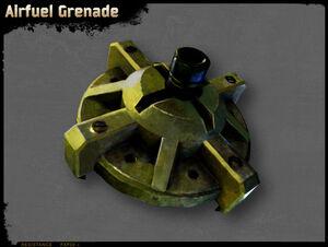 Lufttreibstoffgranate