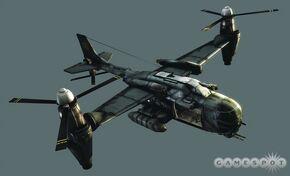 VTOL plane