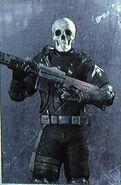 Black Ops Skull Multiplayer Skin