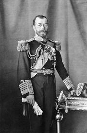 Nicholas II by Boissonnas & Eggler c1909