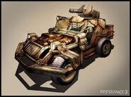 R3 Warden vehicle by Collin Geller