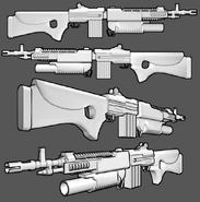 M5a2 carbine
