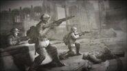British Soldiers In Combat