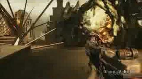Resistance 2 Boss Fight Leviathan