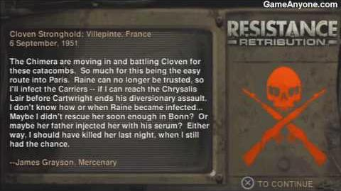 Resistance Retribution - Paris Catacombs - Upper Tunnels 1 2