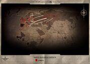 UED invasion map